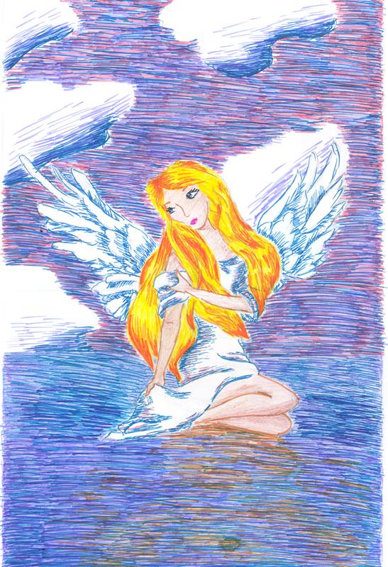ангел хранитель детские картинки